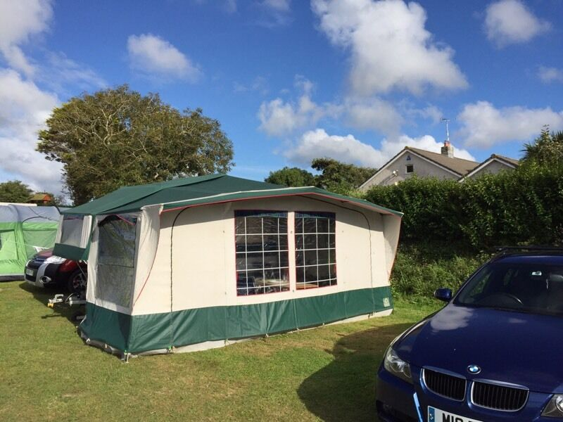 1993 Conway Cruiser 6 Berth Folding Camper With Full Awning