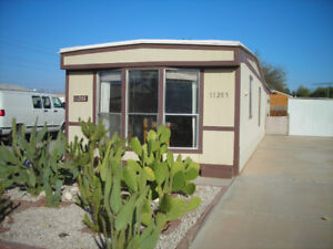 2 BEDROOM MOBILE HOME in sunny YUMA AZ $1700.- 2 Months