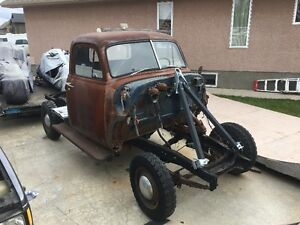 1951 GMC project and  S10 frame