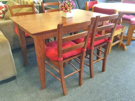 DELIVERY TODAY 5 pieces SOLID WOOD Dining table QUICK SALE Perth Region Preview