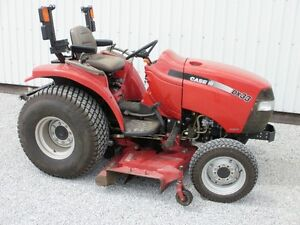 """CaseIH Farmall DX33 Compact tractor 4x4 60""""mow Reduced to Sell"""