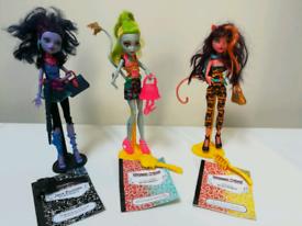 Monster High Dolls 3 of