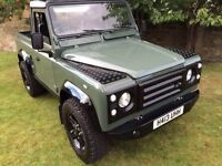 Land Rover defender 90 pick up full restoration