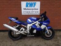 Yamaha R6, 2002, VGC, 35,709 MILES WITH FSH, 12 MONTHS MOT