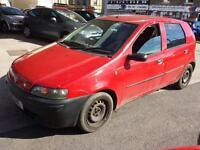 Fiat Punto 1.2 5 DOOR - 2001 51-REG - 11 MONTHS MOT
