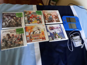 Selling Nintendo 2ds with games