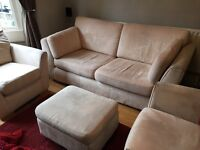 Four piece sofa set
