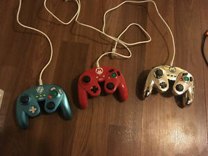 Wii U GameCube Pro controllers for sale