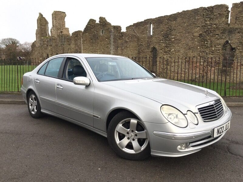2003 03 reg mercedes benz e class 2 7 e270 cdi for Mercedes benz swansea