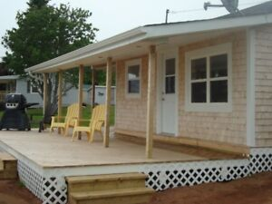 Cottage for Cavendish Beach Music Festival