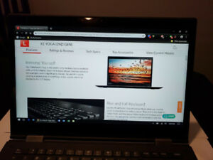 Lenovo X1 Yoga, i5-7200, 8GB Ram, 256 SSD, warranty