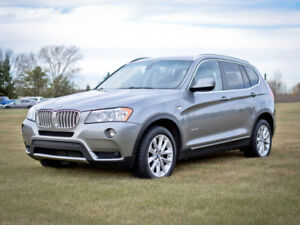 2011 BMW X3 35i - Fully Loaded - Winter Tires
