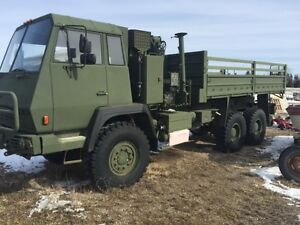 1989 MAN (STEYR) 8.5 TON 6X6 ONLY 7500$ NEEDS TRANSFER CASE