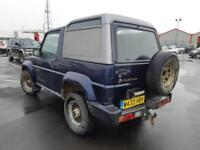 2000 W DAIHATSU FOURTRAK 2.8TD COMMERCIAL.PX BARGAIN TO CLEAR.PX STILL WELCOME .