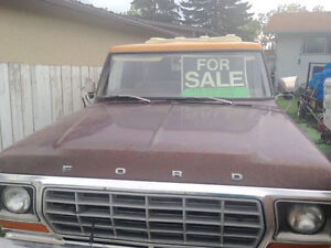 1978 FORD F150 CUSTOM PU 1 OWNER