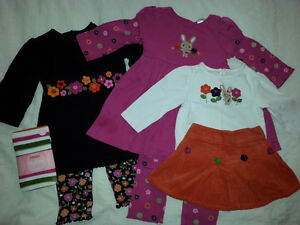 21 pcs GYMBOREE GIRL FALL CLOTHING 6-18m VETEMENTS FILLE AUTOMNE Gatineau Ottawa / Gatineau Area image 3