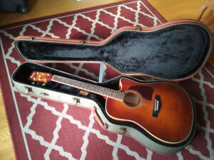 Ibanez AW200ECE-VV rare with hard case