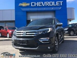 2016 Honda Pilot Touring   - Certified - Blu-Ray Player - All-Wh