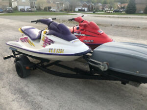 Seadoo Double Trailer Only | Kijiji - Buy, Sell & Save with