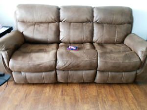brand new couch not sat on much
