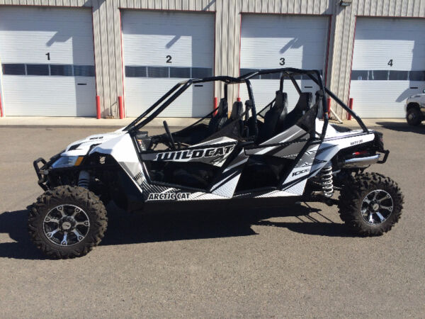 Used 2015 Arctic Cat WILDCAT 1000 4X