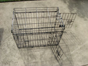 Large heavy mesh wire Cage 2 large doors size 23 L 16 H 13 Wide