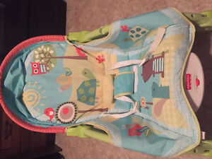 Fisher price soother seat