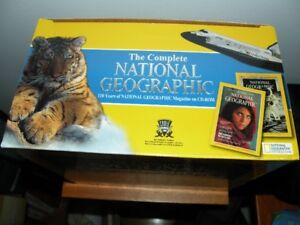 National Geographic on CD ROM