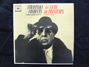 STRAVINSKY CONDUCTS VINYL