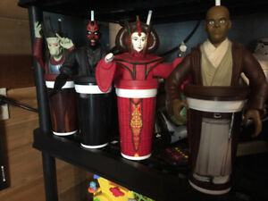 Vintage Star Wars The Phantom Menace Collector Cups