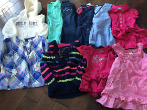Girls Guess & Tommy Hilfiger Clothes Size 2T