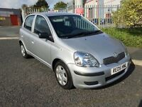2005 TOYOTA YARIS 1.0 T3 5DR **FSH**LOW MILEAGE ONLY 26K FROM NEW**