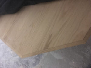 SOLID OAK TABLE - unfinished (needs stain