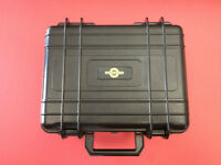 'Lost' from golf cart black cinevate box with misc camera parts