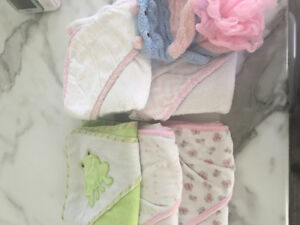 Infant bath towels