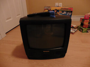 TV with Built-in VCR