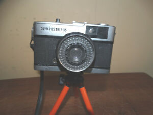 Olympus Trip 35 35mm Rangefinder Film Camera