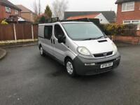 Vauxhall Vivaro 2.9t 1.9cdti 100 LWB Crew Cab 6 seater