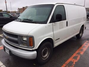2000 Chevy Express 3500 (203k) safetied and e-tested 4k Obo