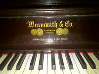 Reconditioned Wormwith Upright Piano