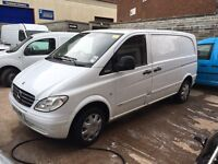 2009 Mercedes Vito Cdi Compact 6 Seater sport van px welcome
