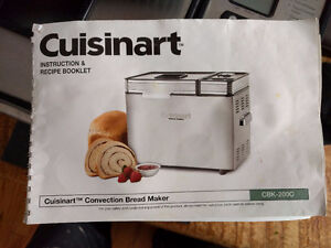 Cuisinart stainless steel convection bread maker