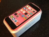 IPhone 5c 8gb pink (A+ condition)