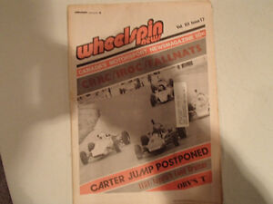Vintage Collection of 6 WHEELSPIN NEWS Canada's Motorsport News Sarnia Sarnia Area image 4