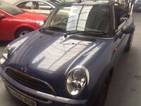 Mini One Convertible 33,000 2007 lovely car