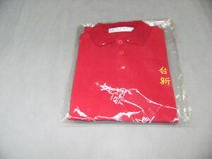 Polo neuf gr petit rouge..lot de 75 doit prendre  lot $1.50ch