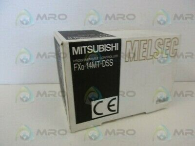 Mitsubishi Fx0-14mt-dss Plc Dc Base Transistor Unit New In Box