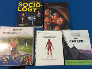 Health and fitness school books for sale