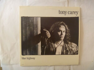 TONY CAREY LPs - 3 to choose from