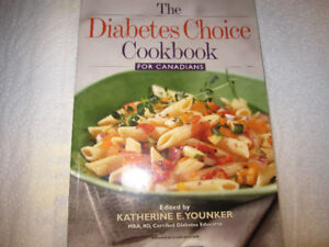 THE DIABETES CHOICE COOKBOOK  for Canadians